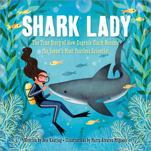 Book Cover: Shark Lady by Jess Keating