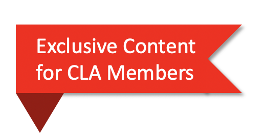 Exclusive Content for CLA Members